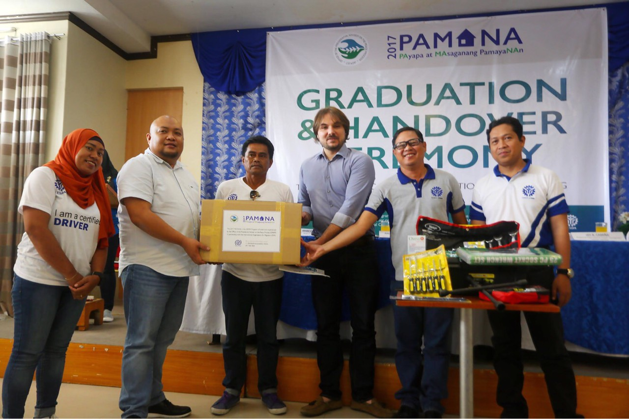 67 graduate from PAMANA-funded tech-voc training