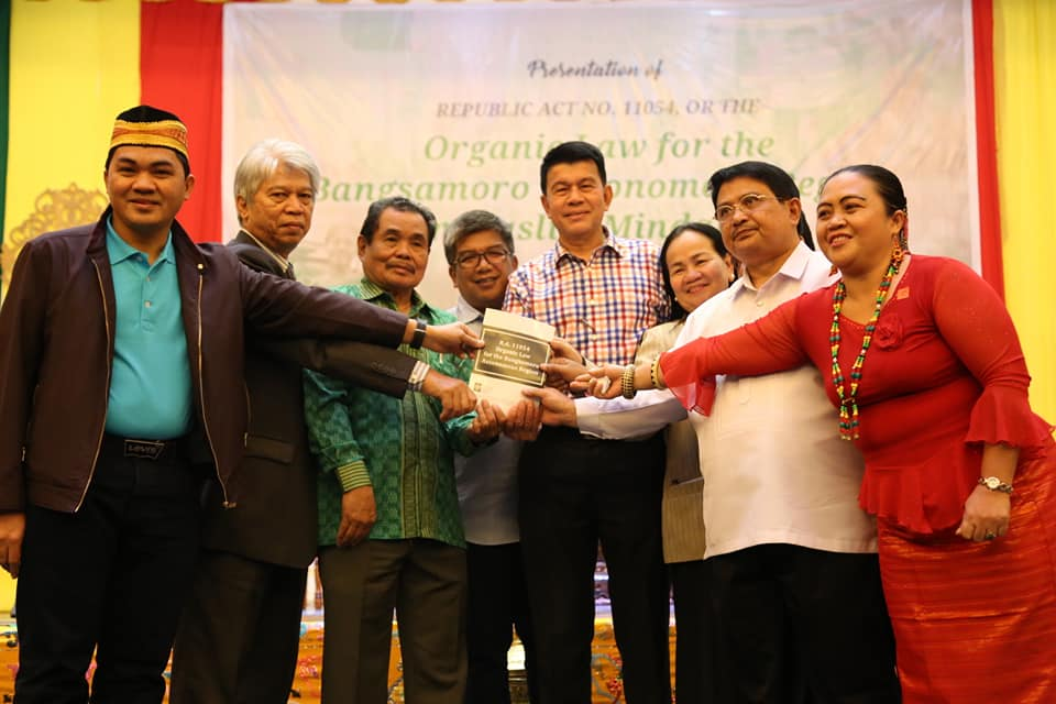 Passage of BOL celebrated in Cotabato