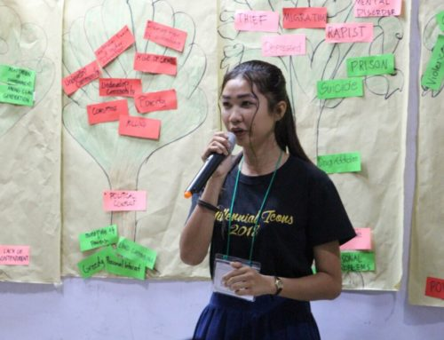 Student grantees call for peace promotion through education