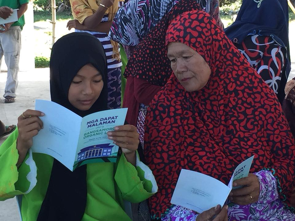 Women of Mamasapano declare support for BOL