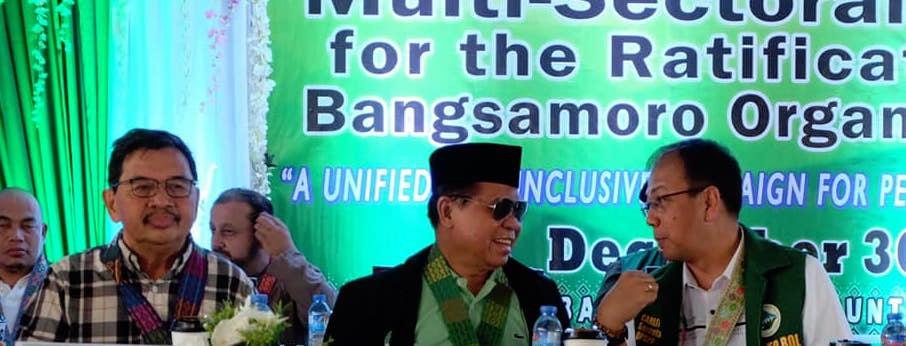 Moro leaders, peace advocates reunite in historic Gambar to push for BOL
