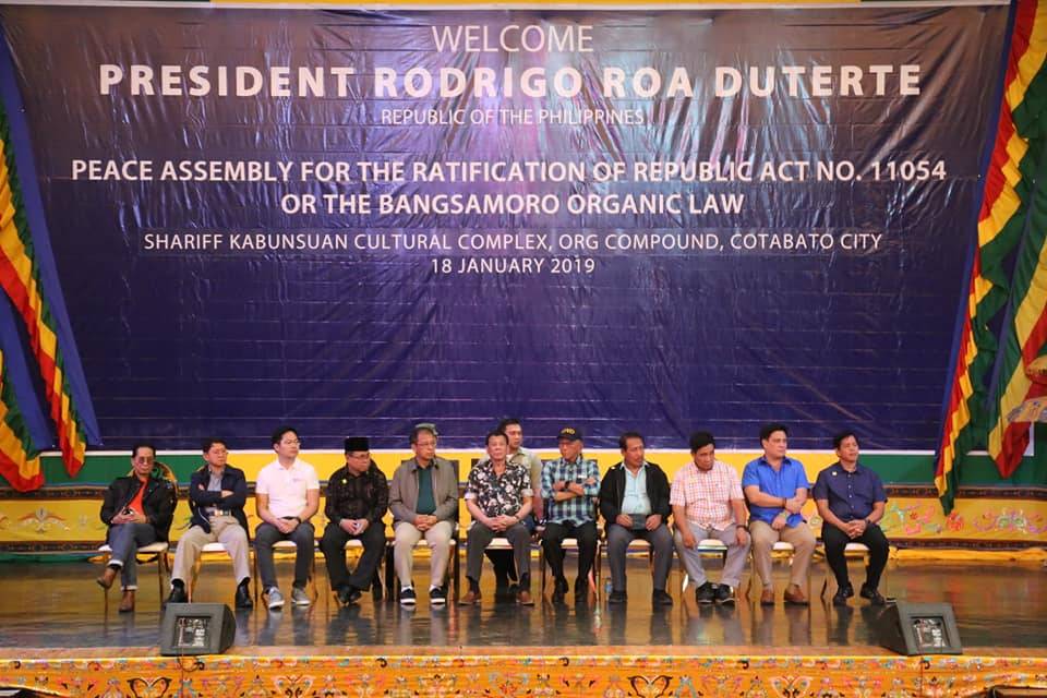 Duterte's cabinet makes final pitch for BOL
