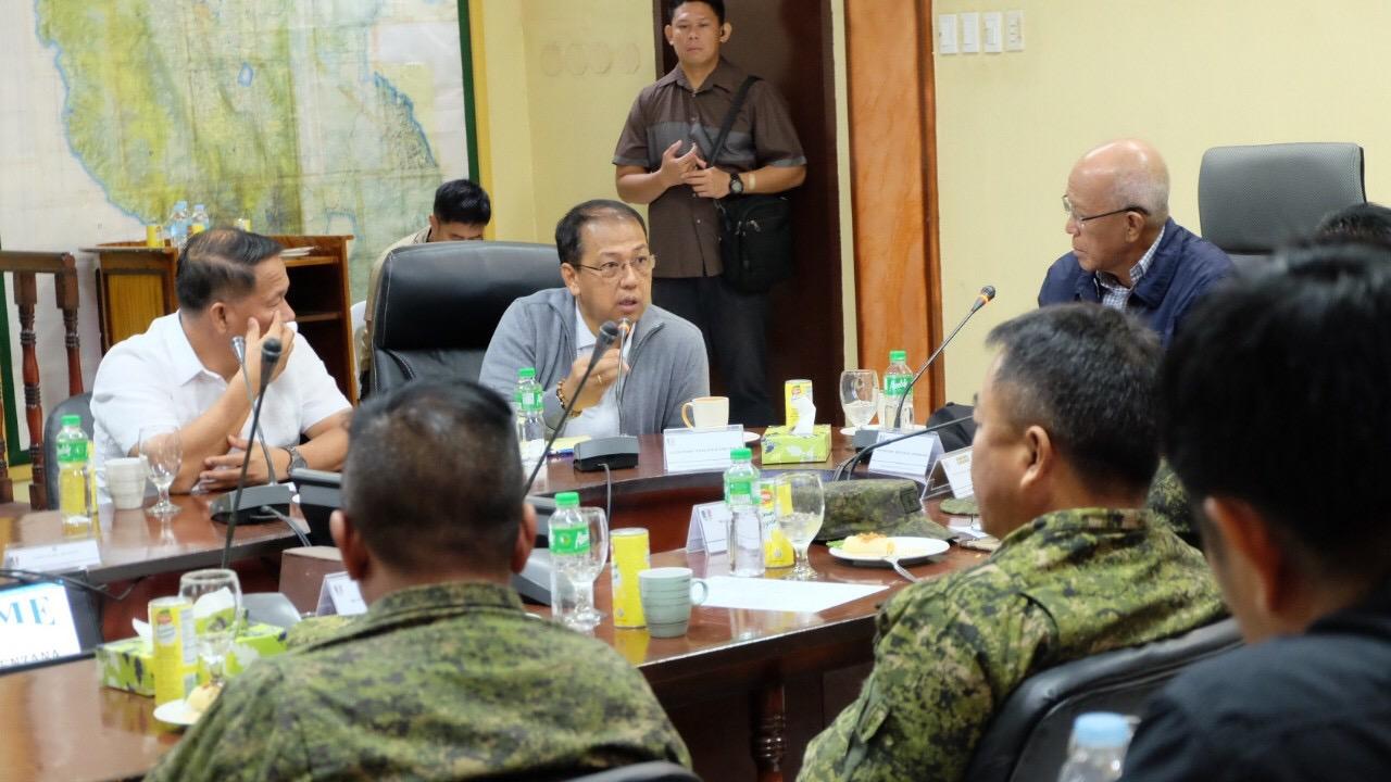 Lorenzana, Galvez, Dela Vega, Cotabato leaders vow peaceful conduct of plebiscite, mid-term polls