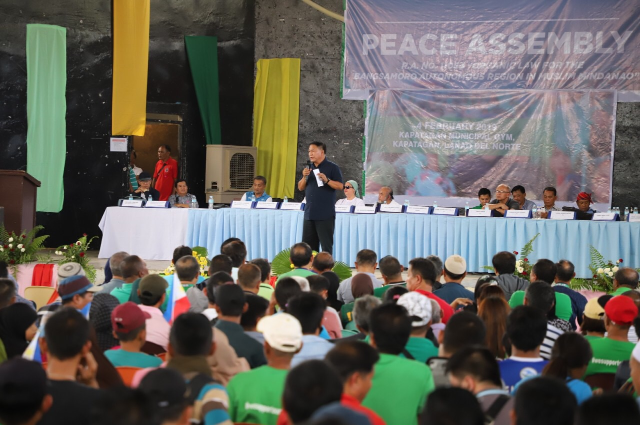 Northern Lanao commits support to the Bangsamoro law