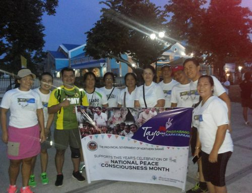 North Samar Peace Month launches 2016 Peace Month