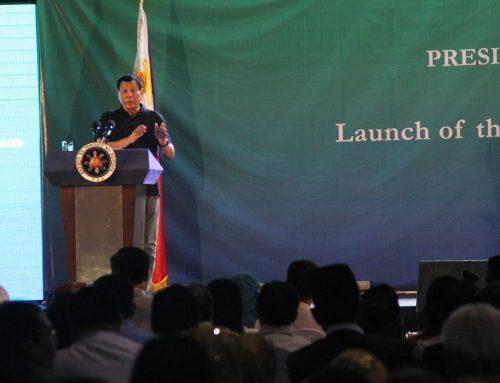 Speech of President Rodrigo Roa Duterte during the Launch of the Bangsamoro Transition Commission (BTC)