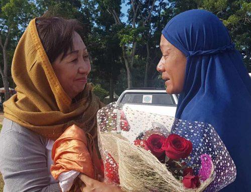 Roses for peace on Eid'l Ftr