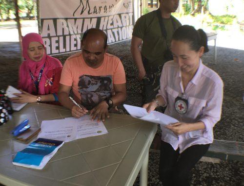 Humanitarian aid flows through Malabang 'Peace Corridor'