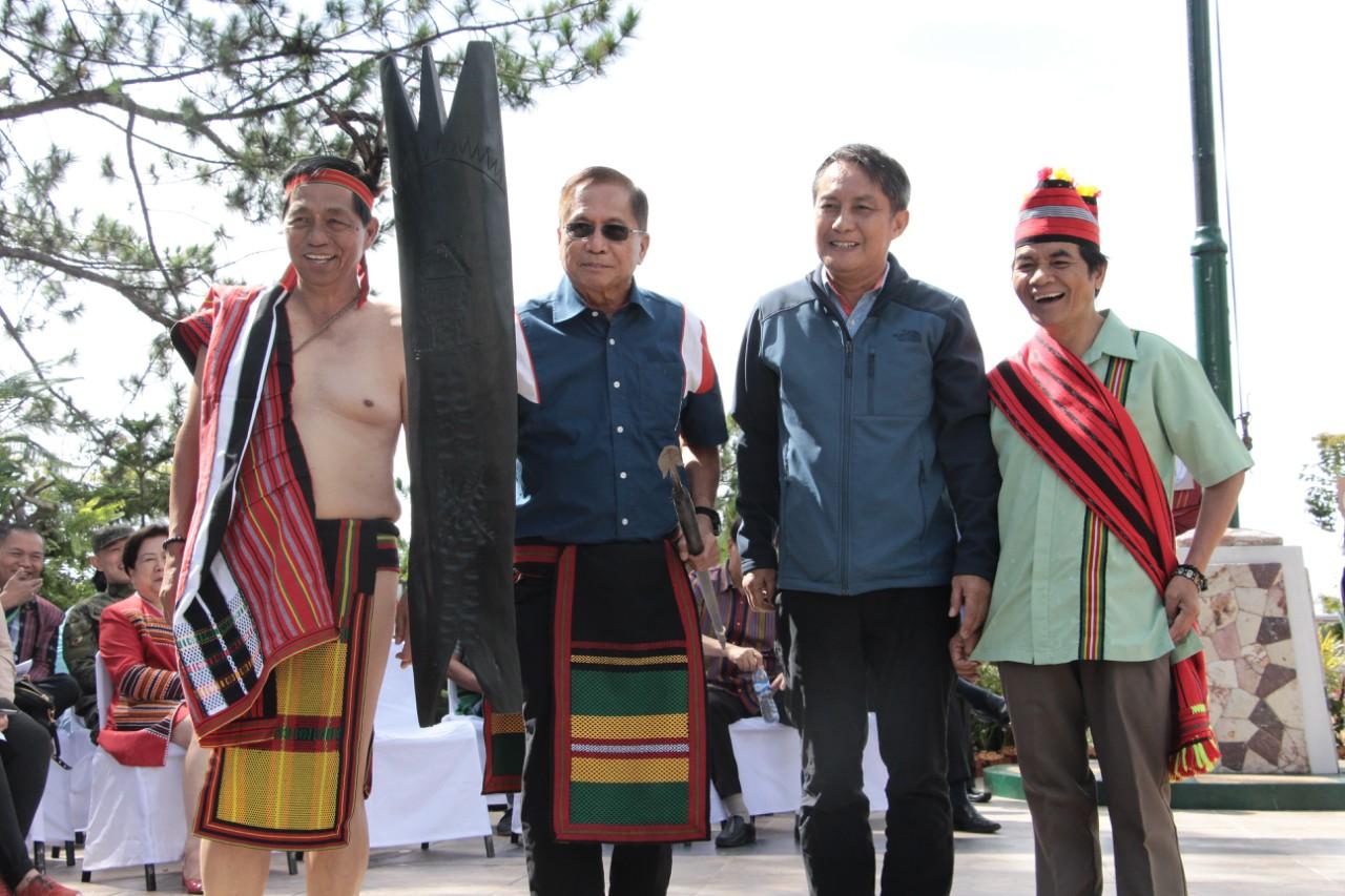 """CAR adopts Dureza as """"Son of Cordillera"""""""