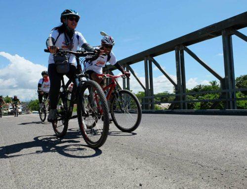 Almost 400 peace bikers accompany Peace Buzz in Cotabato City