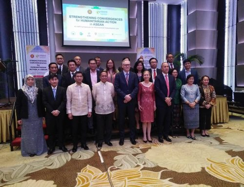 ASEAN members strengthen convergence for humanitarian action