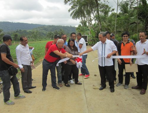 Munai inaugurates farm to market road
