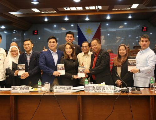 Senators call to hasten the work for the passage of the Bangsamoro law