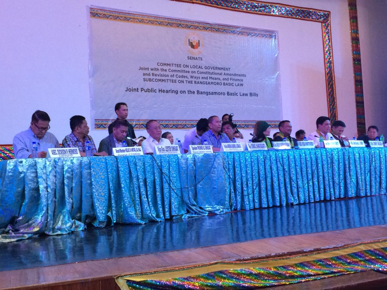 Local executives, IPs, CSOs and Christian groups call for passage of BBL