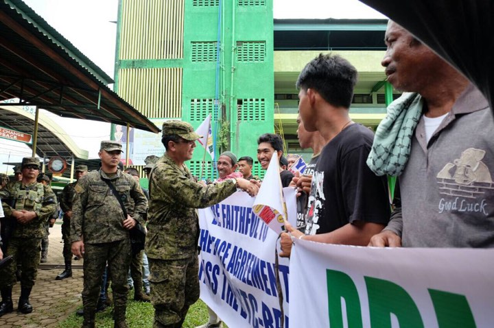 BBL will 'significantly' lower terror threat in Mindanao – Galvez