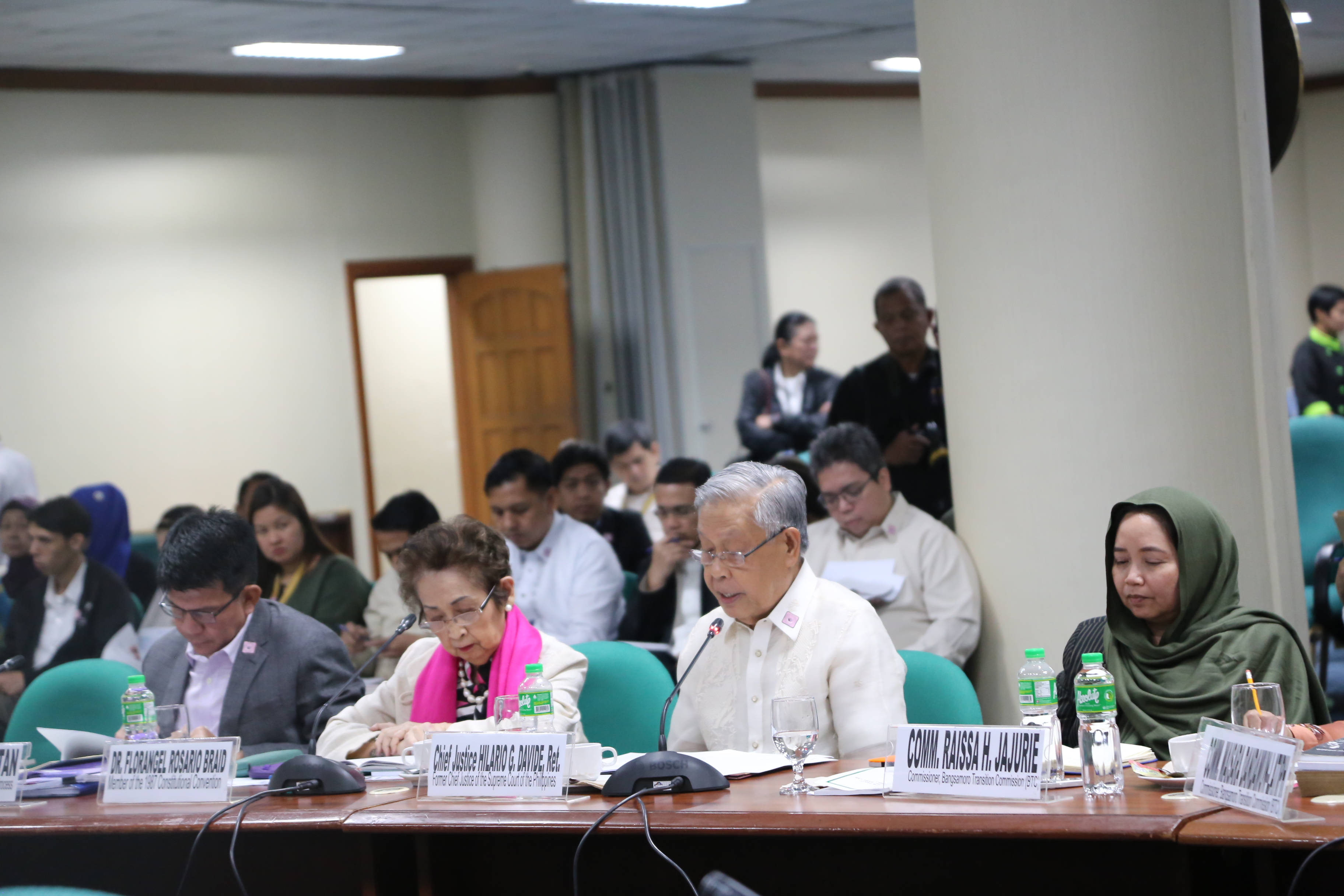 Retired SC chief justice affirms BBL's constitutionality