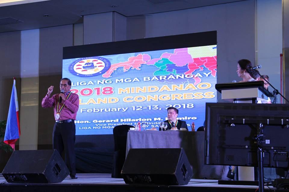 Dureza to barangay leaders: Be exemplars of good governance