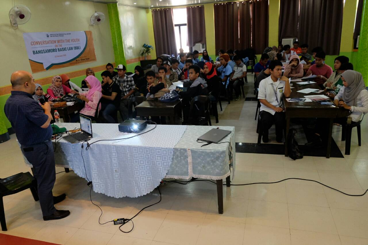 Sulu youth pledge support for Bangsamoro government to succeed