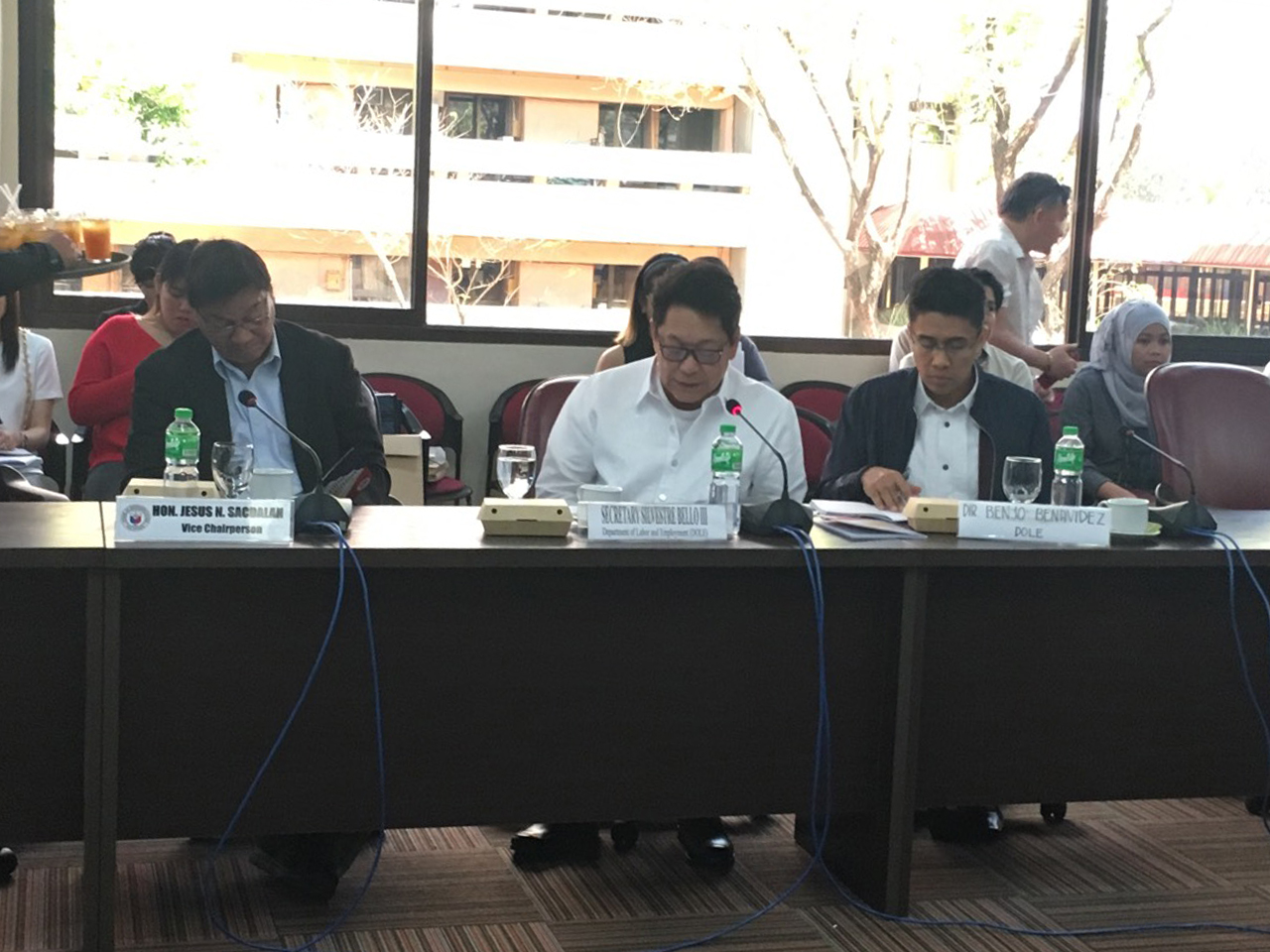 Bello commends BBL for its inclusive, labor-friendly provisions