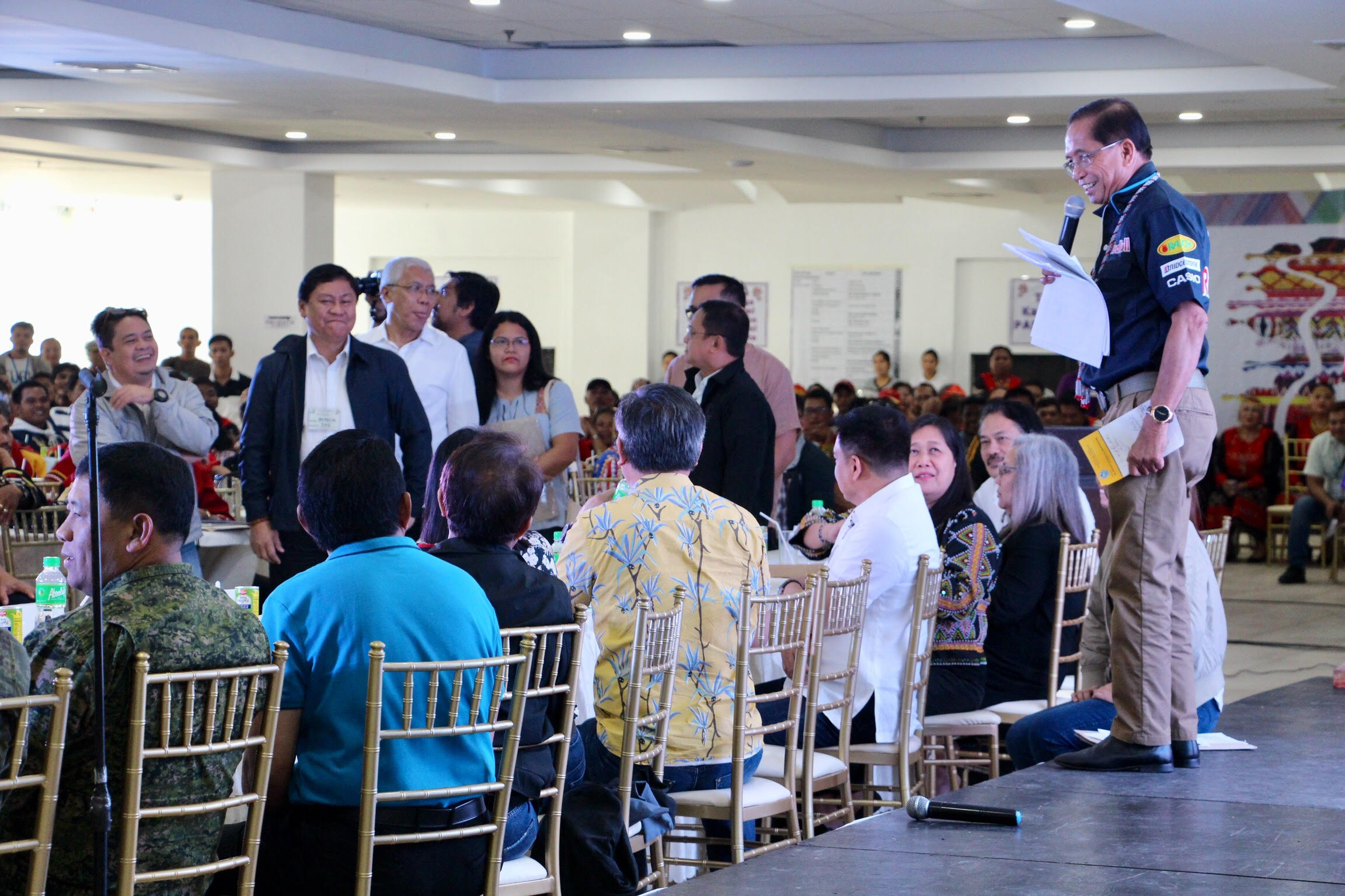 Dureza pushes for resolution of IPs' ancestral domain issues