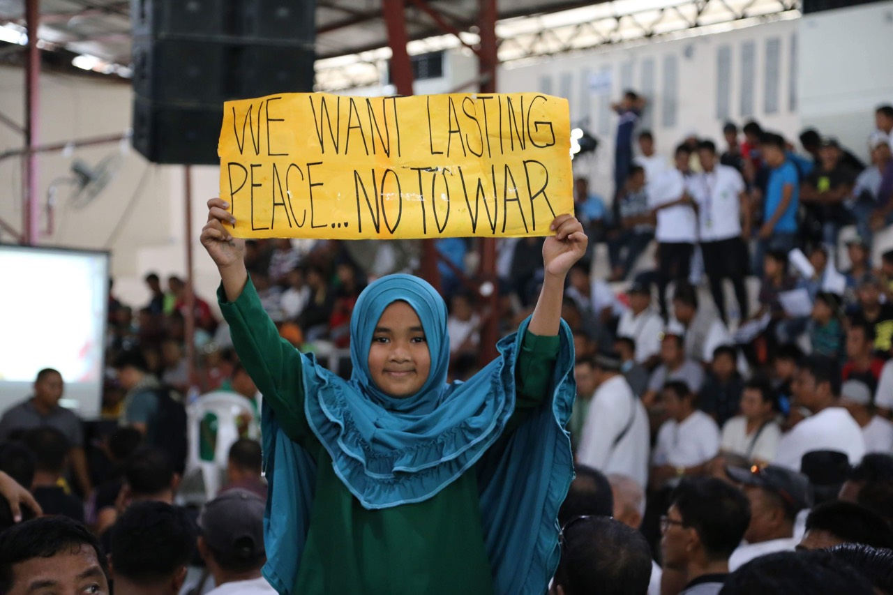 Bangsamoro women appeal for Congress to pass BBL