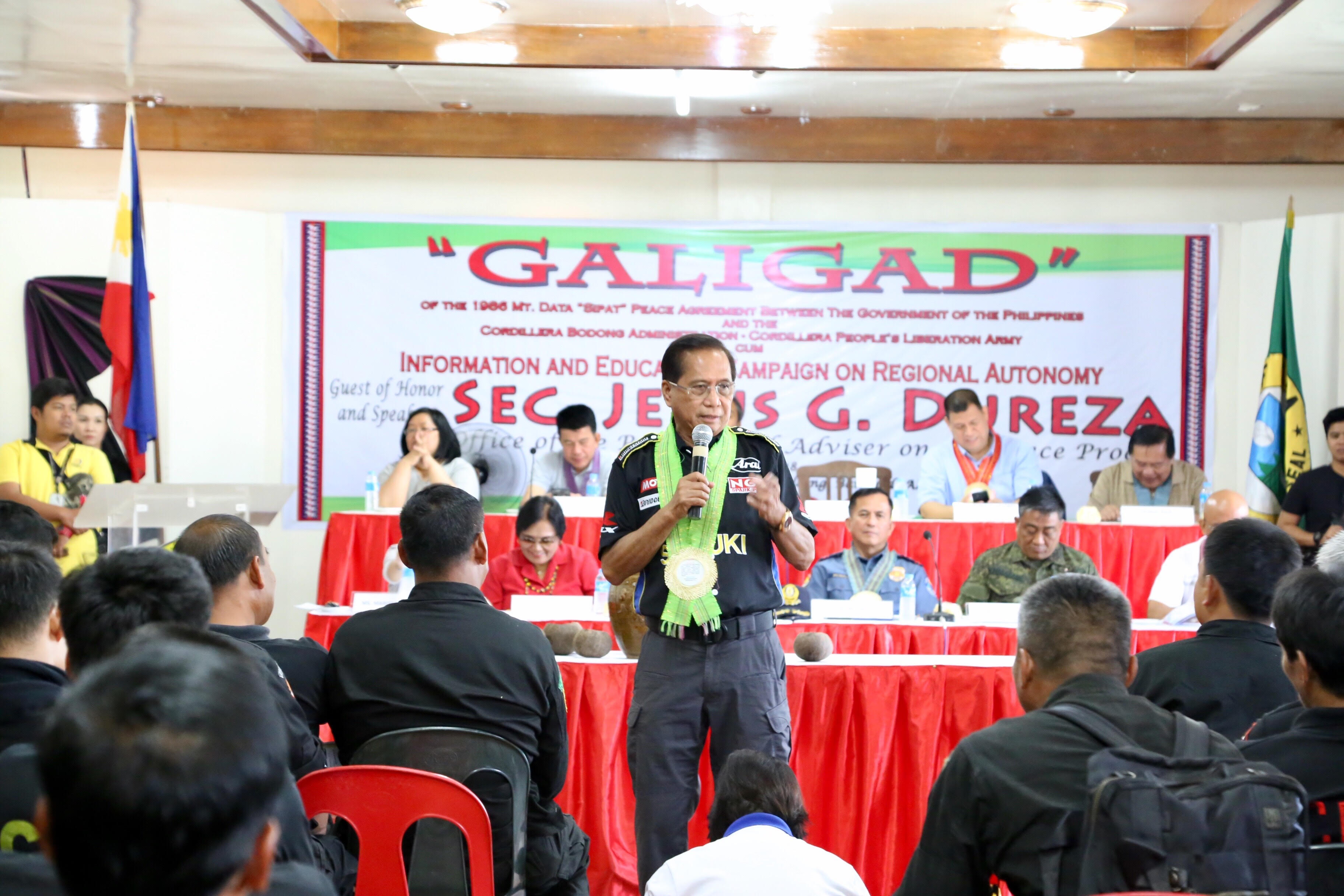 Reintegration of former combatants highlights Cordi groups' assembly