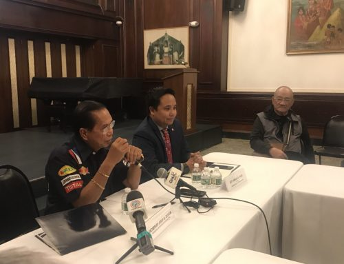 Dureza talks peace with Filipinos in New York
