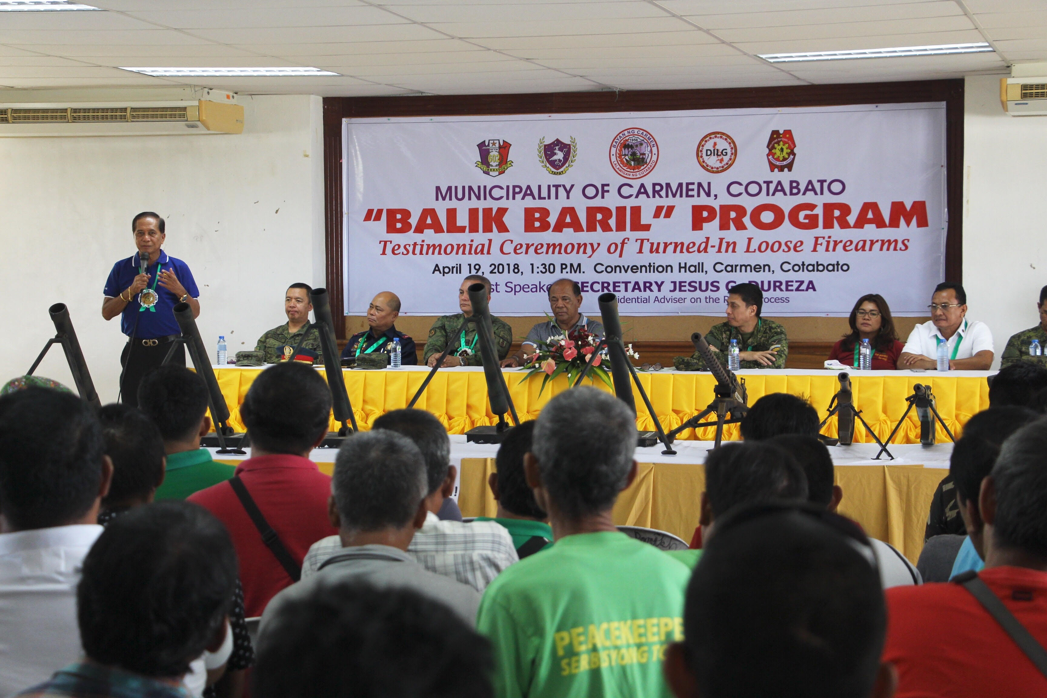 Carmen leads the way in Balik Baril Program implementation