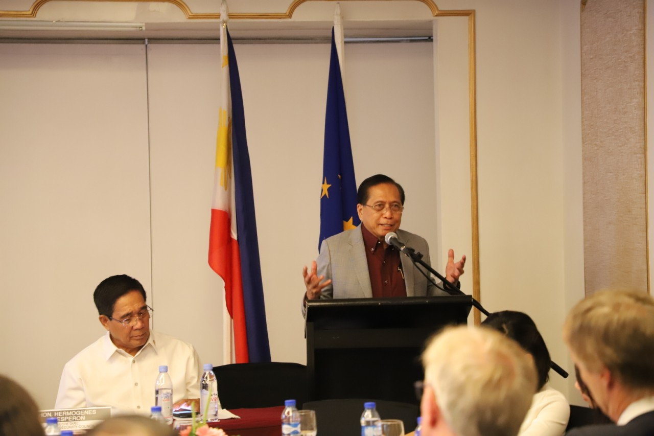 Dureza urges EU to continue supporting peace work