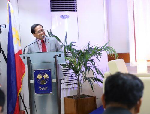 Dureza lauds DAP'S planned course on peace