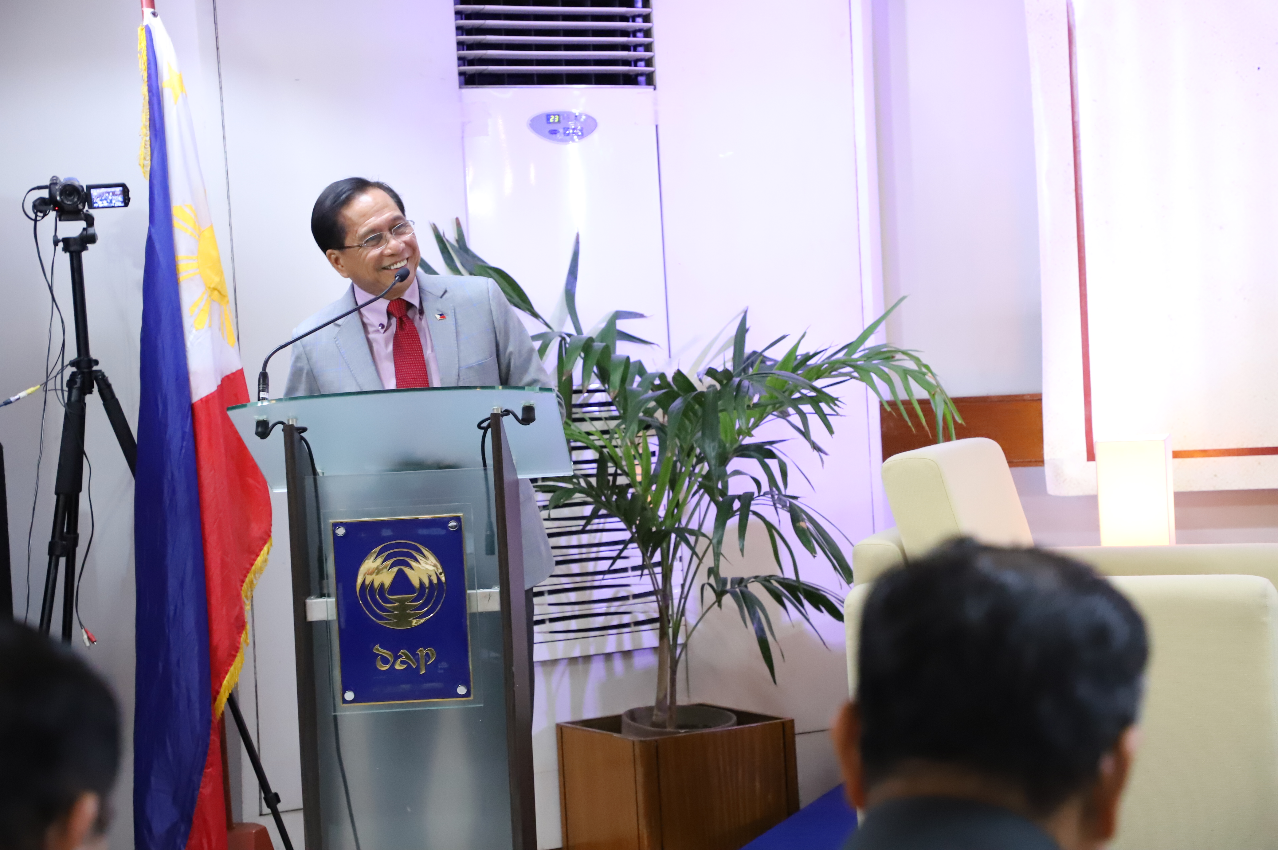 Dureza lauds DAP'S planned course on peace
