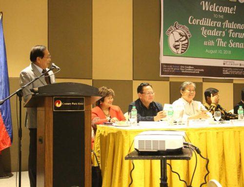 Dureza urges Cordillerans to 'make noise' for autonomy