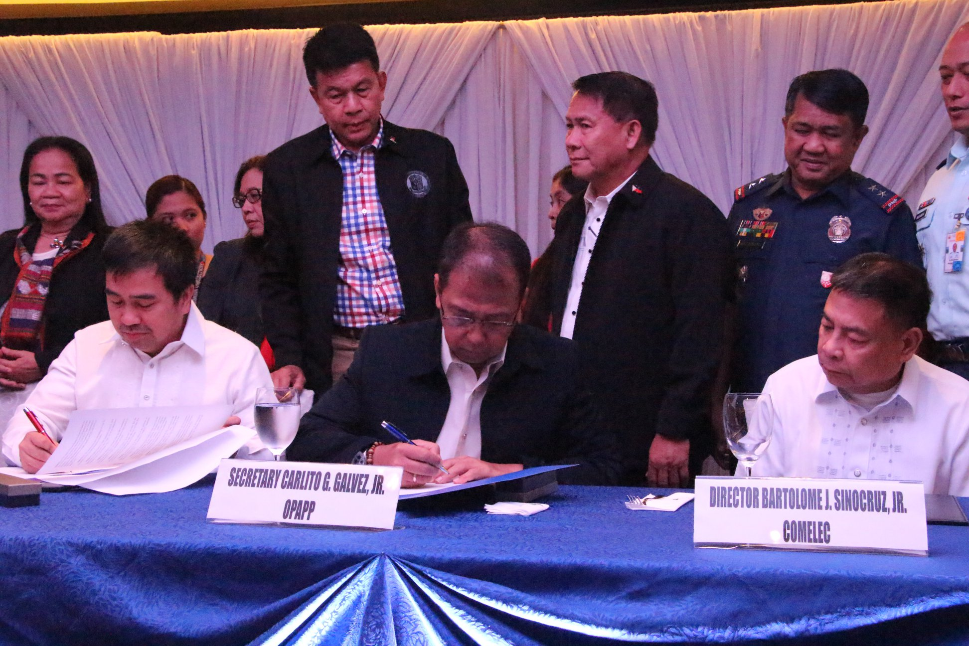 OPAPP, COMELEC, BTC ink partnership on voter awareness on BOL plebiscite
