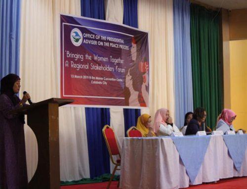 BARMM women converge, craft Bangsamoro Women's Agenda
