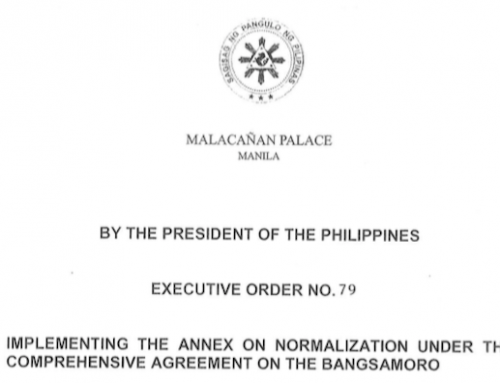 EO 79: Annex on Normalization