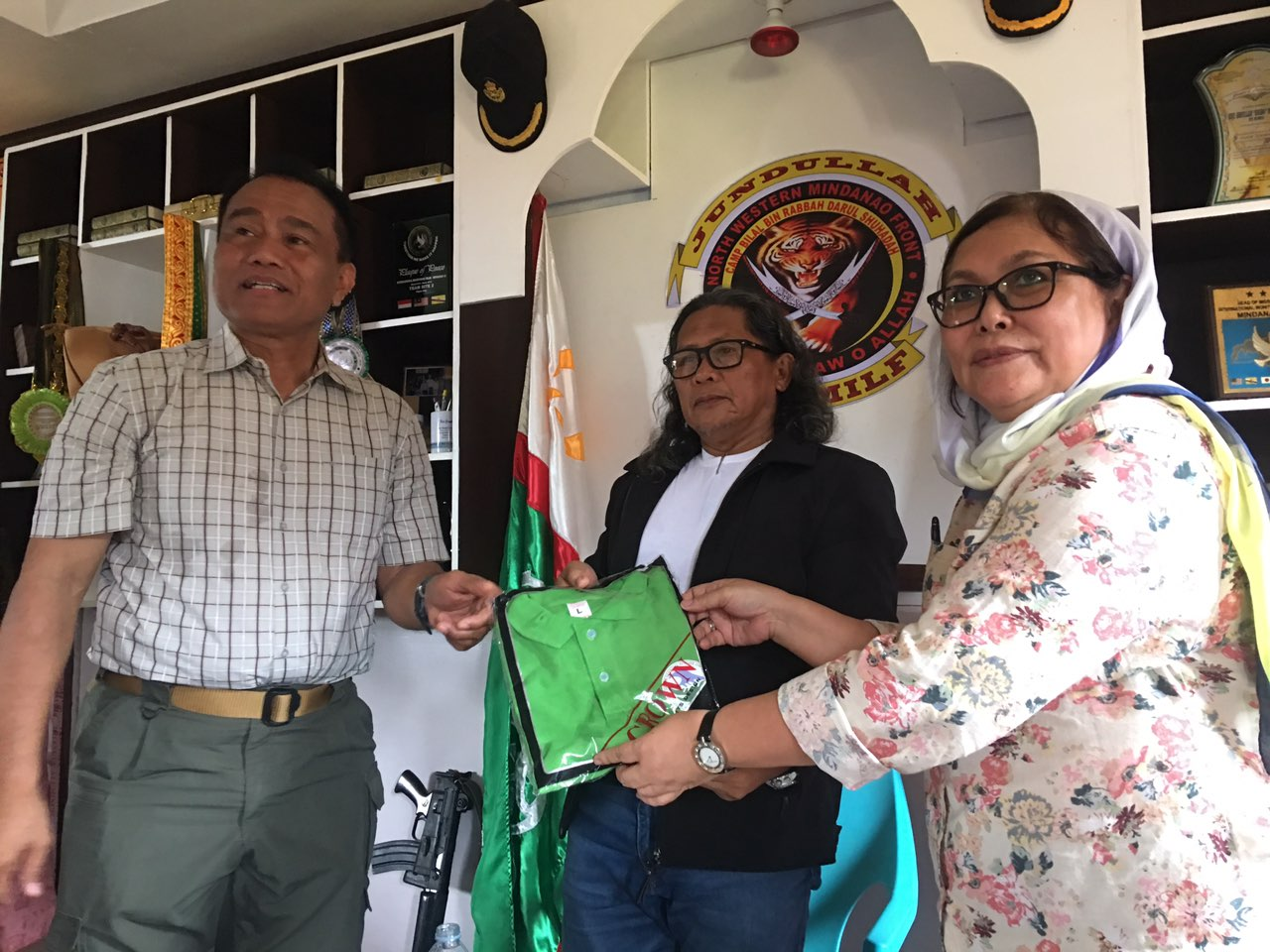 Peace agreement dev't projects to benefit communities in Lanao del Norte