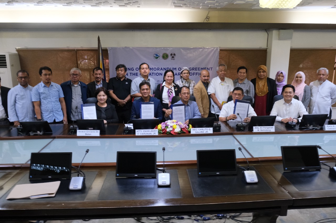 DAP, OPAPP ink MOA to assist in BARMM's transition period