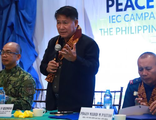 Gov't Implementing Panel encourages coordination and inclusivity among law enforcers