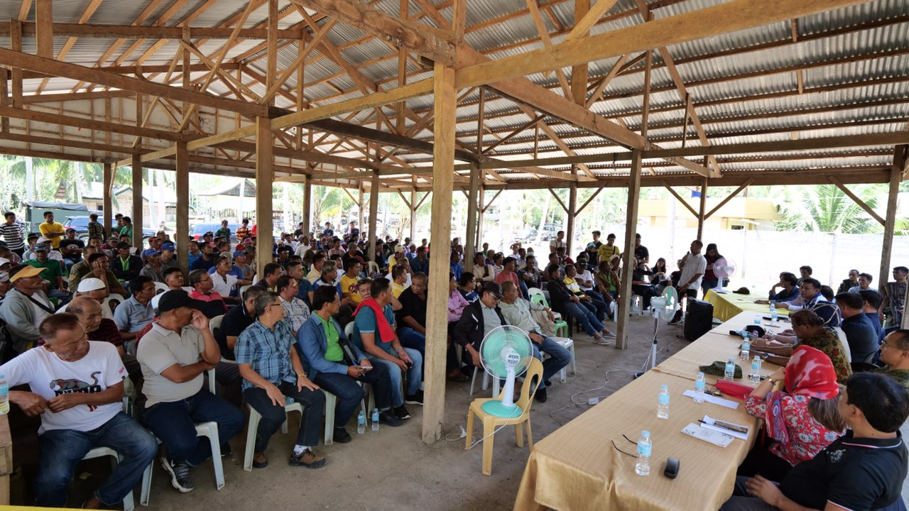 GPH Implementing Panel makes historic visit to MILF's Camp Rajamuda
