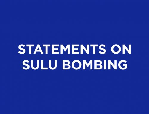 Statements on the Sulu Bombing