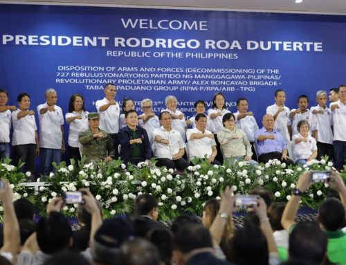 Duterte assures returnees of government support