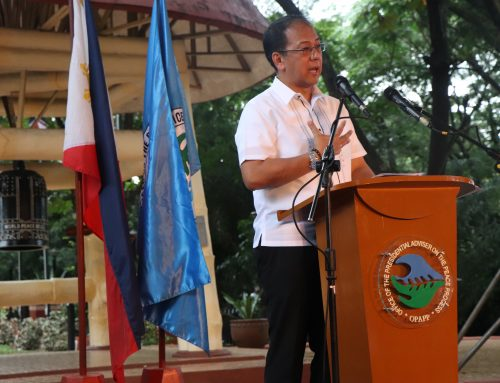 Galvez lauds MILF's commitment to peace as decommissioning process begins