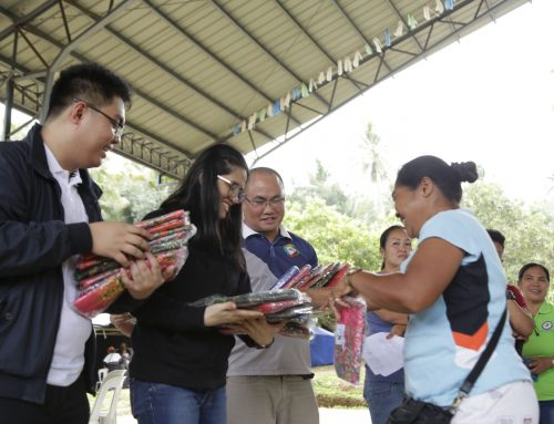 OPAPP extends relief, psychosocial support to NorthCot quake victims