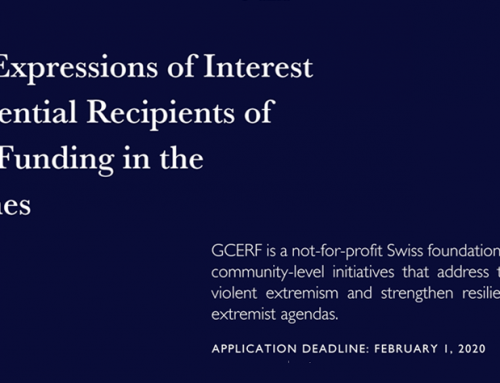Second Call for Proposals or Expressions of Interest for GCERF Funding
