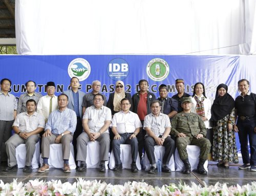 MILF leader: we now have peace and justice in the Bangsamoro