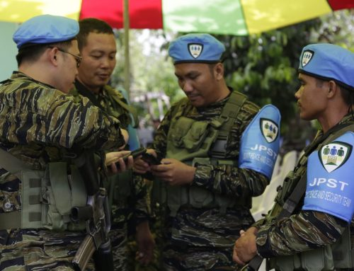 Joint GPH-MILF facility to ensure protection of decommissioned weapons completed