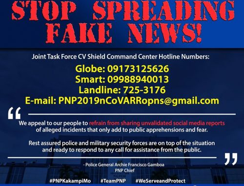 POLICE GENERAL ARCHIE FRANCISCO F GAMBOA Chief, Philippine National Police March 19, 2020