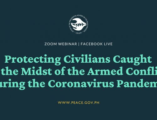 Protecting civilians in conflict-areas amidst COVID-19