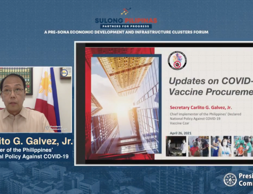 PH economic recovery rests on success of vaccination program— Galvez