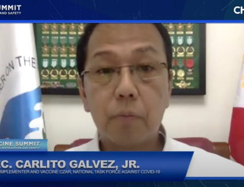 Gov't-private sector partnership vital in success of immunization program, vaccine security — Galvez